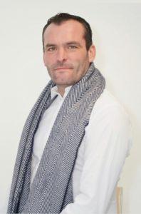 """Nicolas BOITTIN 37 ans Saint-James se présente sur la liste sans étiquette """"J'aime ma commune, une équipe par passion"""" menée par David JUQUIN."""