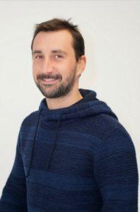 """Yann LEROUX 35 ans la Croix-Avranchin se présente sur la liste sans étiquette """"J'aime ma commune, une équipe par passion"""" menée par David JUQUIN."""